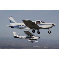 60 Mins Trial Flight Piper PA28